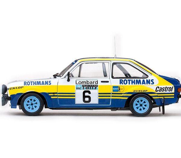 Ford Escort RS1800 #6 Rotmans Lombard RAC Rally 1979 Drivers: A.Vatanen/D.Richards 1-18 Sun Star Limited 1099 pcs.