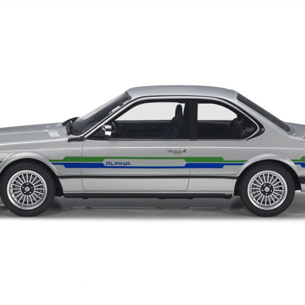 BMW Alpina 6 Serie B7 1988 Silver with colored stripes 1-18 LS Collectibles Limited 100 Pieces
