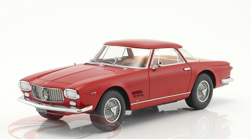 Maserati 5000 GT 1960 Allemano Red 1-18 BOS Models Limited 504 Pieces