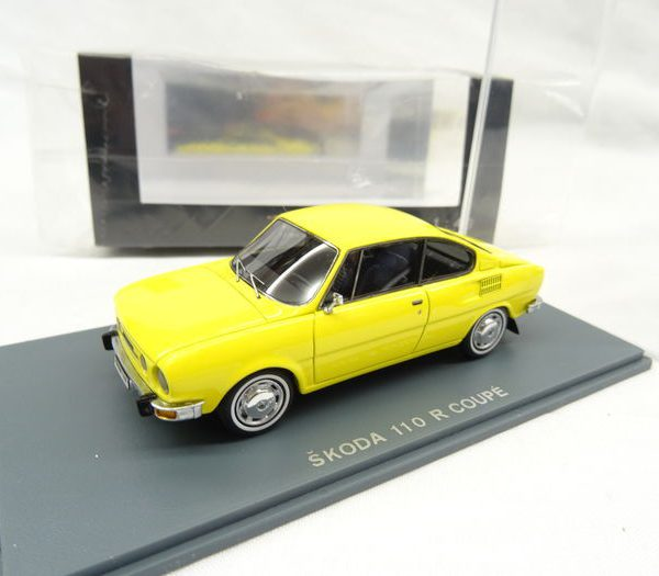 Skoda 110R Coupe 1972-1976 Geel 1-43 Neo Scale Models