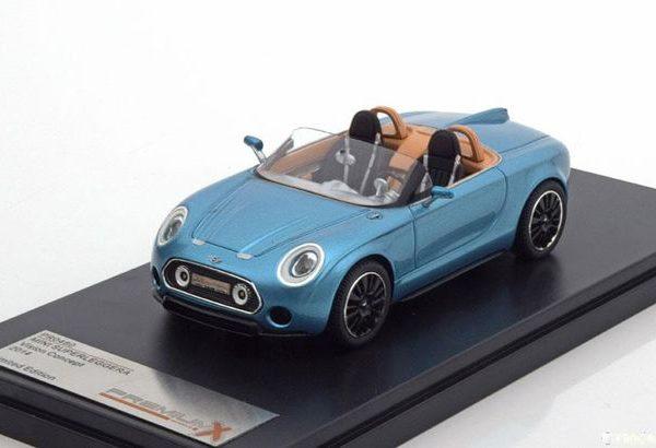 Mini Superleggerra Vision Concept 2014 Blauw Metallic 1-43 PremiumX