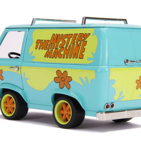 Scooby Doo Mystery Machine Van with Scooby-Doo & Shaggy 1:24 Jada Toys