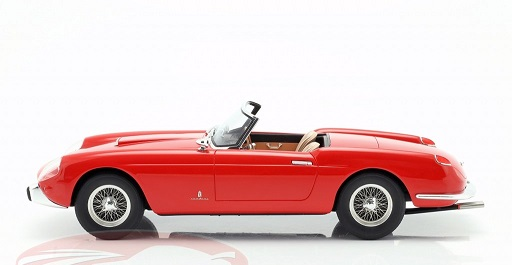 Ferrari 250 GT Cabriolet Series 1 Rood 1957 Matrix Scale Models 1-18 Limited Edition