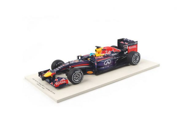 Infiniti Red Bull RB10 No.1 Australian GP 2014 Sebastian Vettel 1-18 Spark