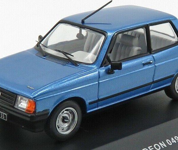 Talbot Samba 1982 Blauw 1-43 Odeon Limited 750 Pieces