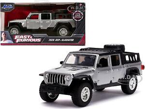 "Jeep Gladiator 2020 ""Fast & Furious"" Zilver 1-24 Jada Toys"