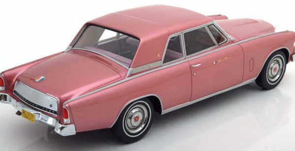 Studebaker Gran Turismo Hawk 1962-1964 Pink Metallic 1-18 BOS Models Limited 504 Pieces