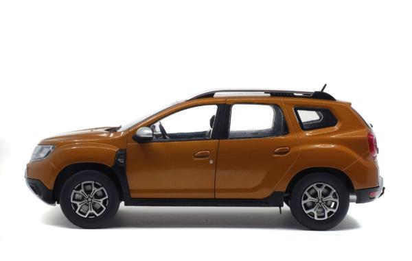 Dacia Duster MK II 2018 Oranje 1-18 Solido