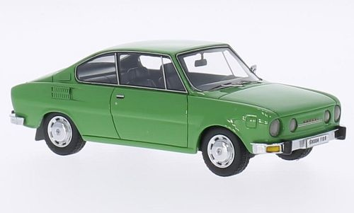 Skoda 110R Coupe 1972-1976 Groen 1-43 Neo Scale Models