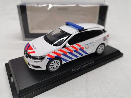 Renault Megane Estate 2016 Nederlandse Politie ( Oude Striping ) 1-43 Norev