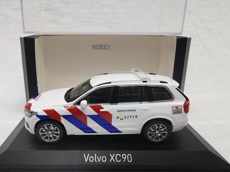Volvo XC90 2015 Nederlandse Politie ( New Striping ) Omgebouwd 1-43 Norev