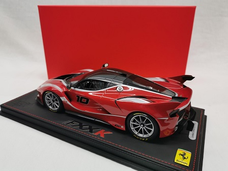 Ferrari FXX-K 2016 Rosso Tristrato 1-18 BBR Models Limited 150 Pieces