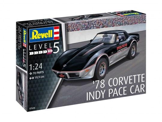 Corvette Indy Pace Car 1978 Bouwdoos 1-24 Revell