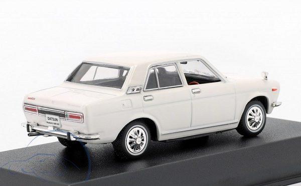 Datsun (Nissan ) Bluebird 1600 SSS 1969 Wit 1/43 Norev