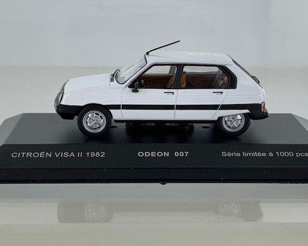Citroen Visa II 1982 Wit 1-43 Edeon Limited 1000 Pieces