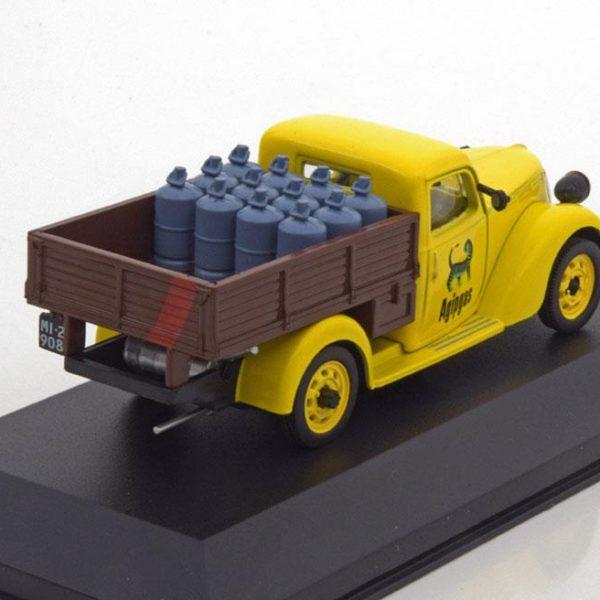 "Fiat 1100 ELR Camioncino ""Agipgas"" 1954 Geel 1-43 Altaya"