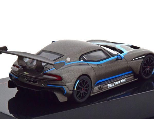 Aston Martin Vulcan 2015 Grijs Metallic 1-43 Ixo Models