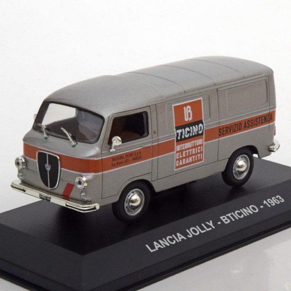 Lancia Jolly B-Ticino 1963 Zilver 1-43 Altaya