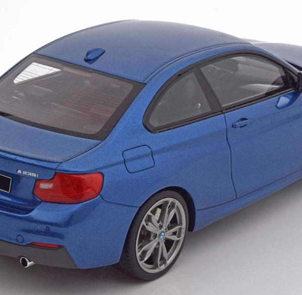 BMW M235i 2015 Blauw 1-18 GT Spirit Limited 504 pcs.