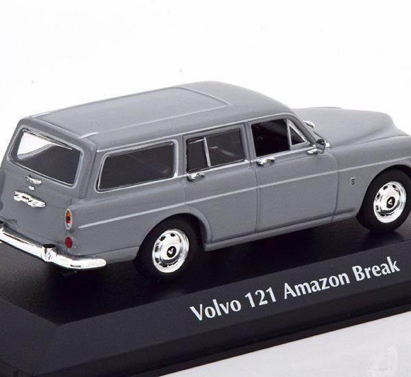 Volvo 121 Amazon Break 1966 Grijs 1-43 Maxichamps