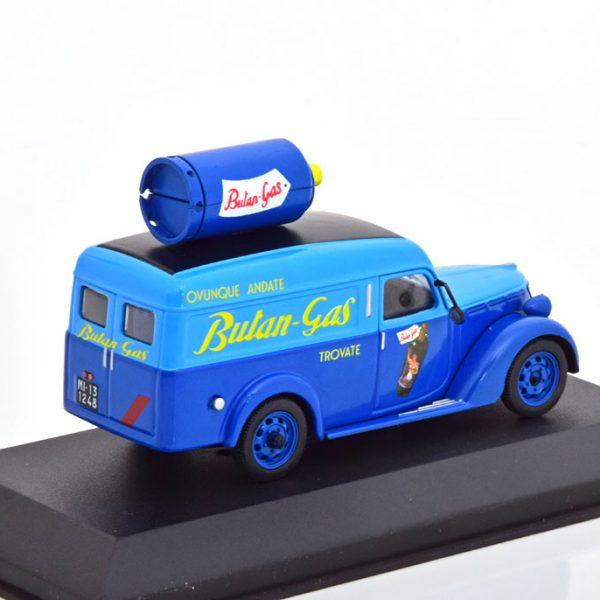 "Fiat 1100 ELR ""Butan-Gas"" Blauw 1-43 Altaya"
