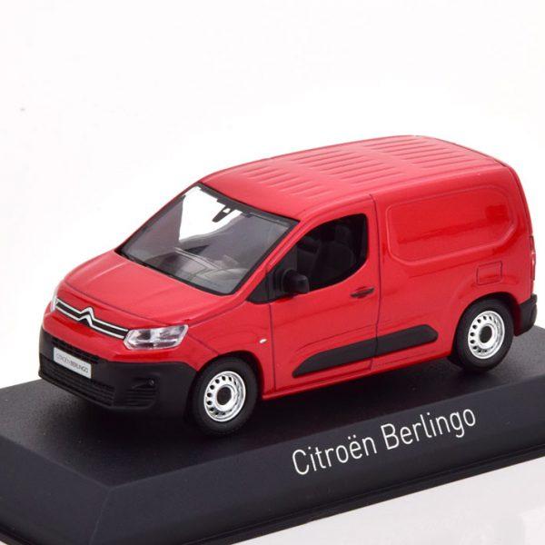 Citroen Berlingo Van 2018 Rood 1-43 Norev