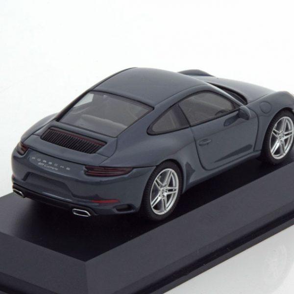 Porsche 911 (991/II) Carrera Coupe 2016 Grijs 1-43 Herpa