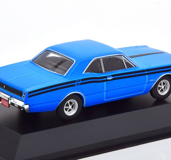 Dodge Polara RT 1974 Blauw / Zwart 1-43 Altaya