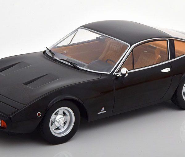 Ferrari 365 GTC4 1971 Zwart 1-18 KK Scale Limited 750 Pieces