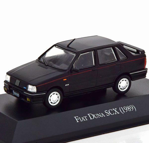 Fiat Duna SCX 1989 Zwart 1-43 Altaya