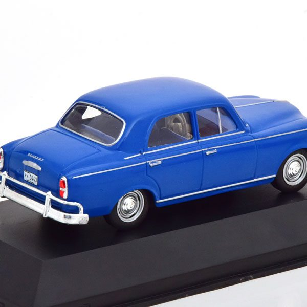 Peugeot 403 Limousine 1960 Blauw 1-43 Altaya