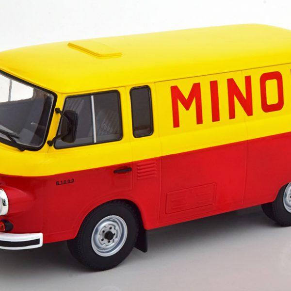"Barkas B1000 ""Minol"" Rood / Geel 1-18 MCG Models"