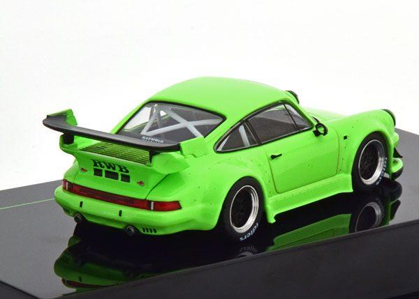 """Porsche 911 (930) RWB """"Rauh-Welt"""" Lichtgroen 1-43 Ixo Models"""