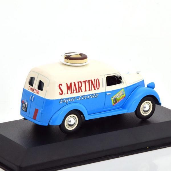 Lancia Ardea 800 Furgoncino S.Martino 1949 Blauw / Beige 1-43 Altaya