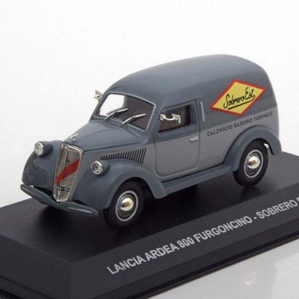 Lancia Ardea 800 Furgoncino Sobrero Est 1948 Grijs 1-43 Altaya