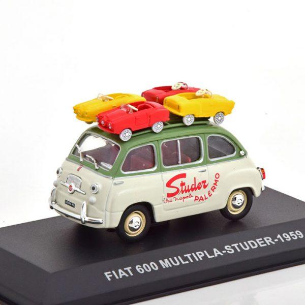 "Fiat 600 Multipla ""Studer"" 1959 1-43 Altaya"