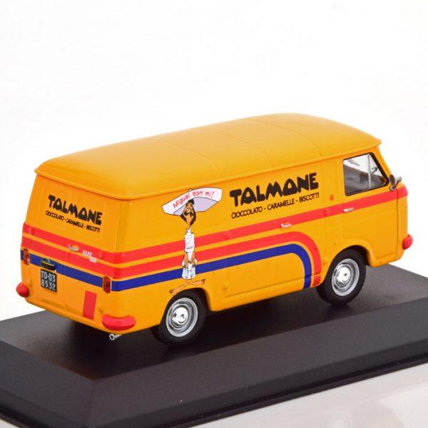 "Fiat 238 ""Talmone"" 1970 Oranje / Rood 1-43 Altaya"