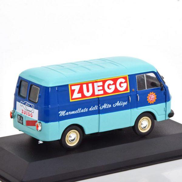 """Fiat 1100 T """"Zuegg"""" Blauw / Lichtblauw 1-43 Altaya"""