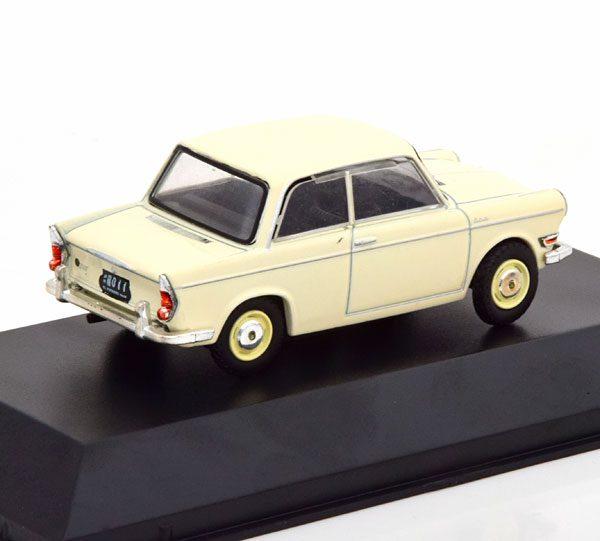 De Carlo 700 1960 ( Basis BMW 700 ) Beige 1-43 Altaya