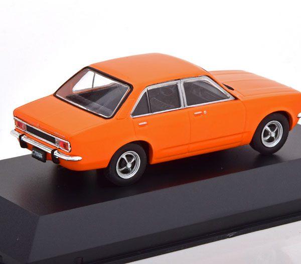Opel K 180 ( Basis van C Kadett limousine ) 1974 Oranje 1-43 Altaya