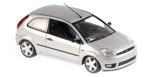 Ford Fiesta 2002 Zilver 1-43 Maxichamps