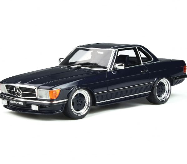 Mercedes-Benz 560 AMG ( R107 ) 1979 Midnight Blue 1-18 Ottomobile Limited 2000 Pieces