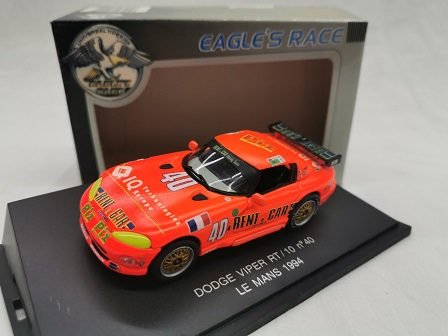 "Dodge Viper RT/10 Nr# 40 Le Mans 1994 ""Rent a Car"" 1-43 Eagle's Race"
