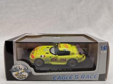 Dodge Viper RT/10 Nr#41 24 Hrs Le Mans 1994 Geel 1-43 Eagle's Race