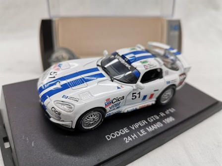 Dodge Viper GTS-R Nr#51 24 Hrs Le Mans 1996 Wit 1-43 Eagle's Race
