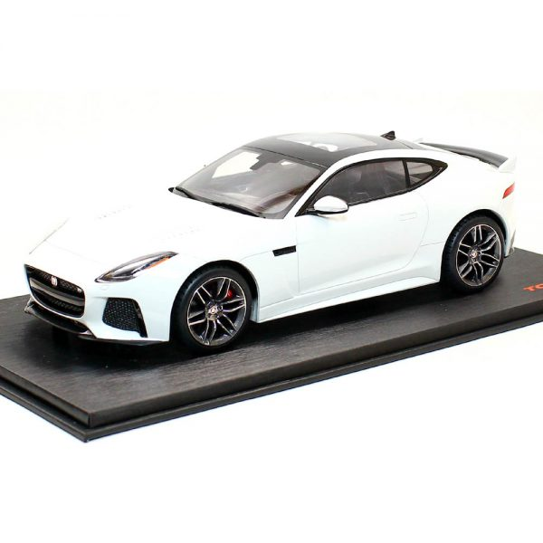 Jaguar F-Type SVR Glacier White 1-18 Top Speed
