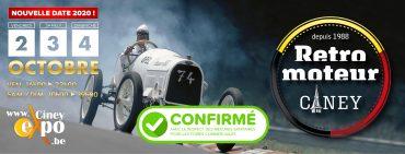 Retro Moteur Ciney 2-3-4 Oktober 2020 Oldtimer en Motorbeurs Ciney Expo ( Belgie )