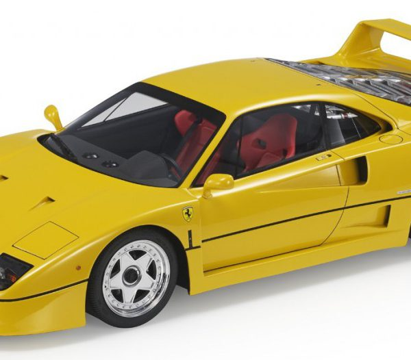 Ferrari F40 1987 Geel 1-18 Top Marques Limited 250 Pieces