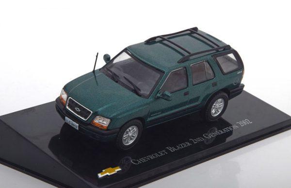 Chevrolet Blazer 2nd Generation 2002 Groen Metallic 1-43 Altaya