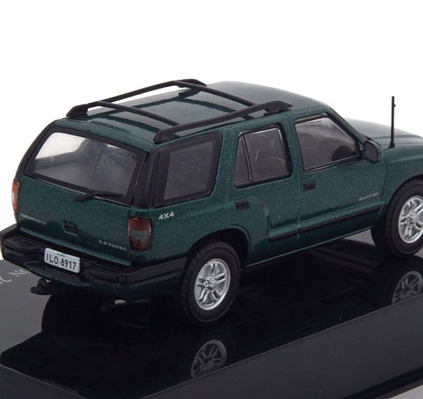 Chevrolet Blazer 2nd Generation 2002 Groen Metallic 1-43 Altaya